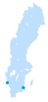 sverigekarta universitet